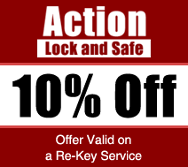 10% Off, Offer Valid on a Re-Key Service